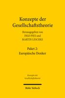 Konzepte der Gesellschaftstheorie: Europäische Denker