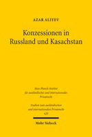 Konzessionen in Russland und Kasachstan