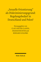 »Sexuelle Orientierung« als Diskriminierungsgrund: Regelungsbedarf in Deutschland und Polen?