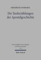 Die Tauferzählungen der Apostelgeschichte