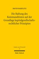 Die Haftung des Kommanditisten auf der Grundlage kapitalgesellschaftsrechtlicher Prinzipien