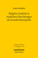 Religiöse Symbole in staatlichen Einrichtungen als Grundrechtseingriffe