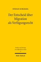 Der Entscheid über Migration als Verfügungsrecht