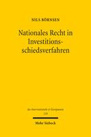 Nationales Recht in Investitionsschiedsverfahren