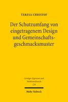 Der Schutzumfang von eingetragenem Design und Gemeinschaftsgeschmacksmuster