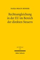 Rechtsangleichung in der EU im Bereich der direkten Steuern