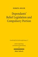 Dependants' Relief Legislation and Compulsory Portion