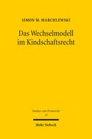 Das Wechselmodell im Kindschaftsrecht