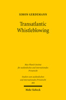 Transatlantic Whistleblowing