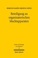 Beteiligung an organisatorischen Machtapparaten