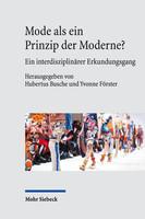Mode als ein Prinzip der Moderne?