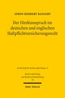 Der Direktanspruch im deutschen und englischen Haftpflichtversicherungsrecht