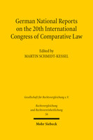 German National Reports on the 20th International Congress of Comparative Law