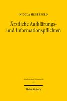 Ärztliche Aufklärungs- und Informationspflichten