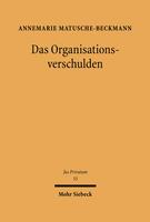 Das Organisationsverschulden