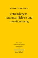 Unternehmensverantwortlichkeit und -sanktionierung