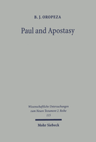 Paul and Apostasy