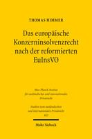 Das europäische Konzerninsolvenzrecht nach der reformierten EuInsVO