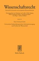 Universitäre Industriekooperation, Informationszugang und Freiheit der Wissenschaft