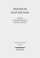 Research on Israel and Aram