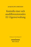 Kontrolle einer sich ausdifferenzierenden EU-Eigenverwaltung