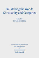 Re-Making the World: Christianity and Categories