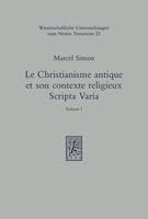 Le christianisme antique et son contexte religieux