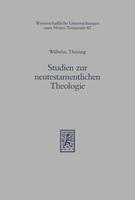 Studien zur neutestamentlichen Theologie