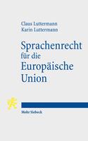 Sprachenrecht für die Europäische Union