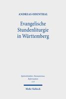 Evangelische Stundenliturgie in Württemberg