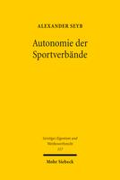 Autonomie der Sportverbände