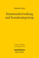 Kommunalverwaltung und Demokratieprinzip