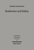 Konfession und Kultur