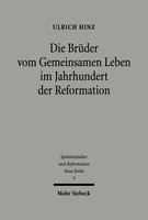 Die Brüder vom gemeinsamen Leben im Jahrhundert der Reformation