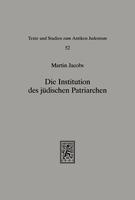 Die Institution des jüdischen Patriarchen