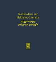 Konkordanz zur Hekhalot-Literatur