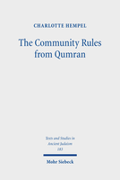 The Community Rules from Qumran