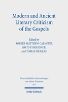 Modern and Ancient Literary Criticism of the Gospels