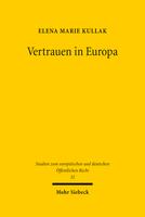 Vertrauen in Europa