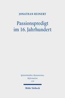 Passionspredigt im 16. Jahrhundert