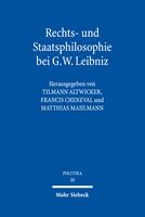 Rechts- und Staatsphilosophie bei G.W. Leibniz