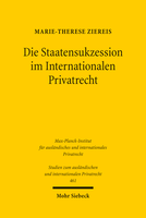 Die Staatensukzession im Internationalen Privatrecht
