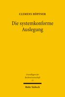 Die systemkonforme Auslegung