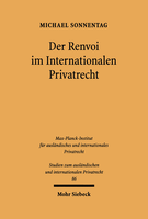 Der Renvoi im Internationalen Privatrecht