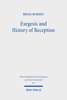 Exegesis and History of Reception
