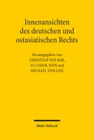 Innenansichten des deutschen und ostasiatischen Rechts