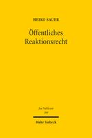 Öffentliches Reaktionsrecht