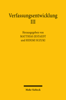 Verfassungsentwicklung III