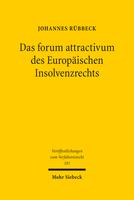 Das forum attractivum des Europäischen Insolvenzrechts