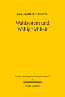 Wahlsystem und Wahlgleichheit